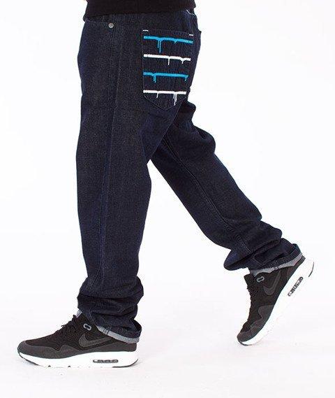 Mass-Dripline Regular Fit Jeans Dark Blue