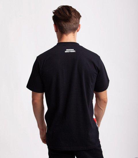 Mass GAMBLE T-Shirt Czarny