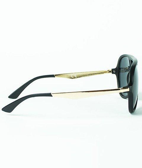 Mass-George Sunglasses Matte Black/Gold