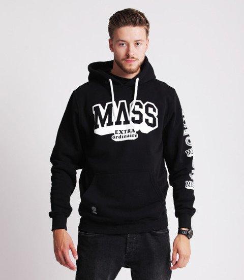 Mass HASSLE Bluza z Kapturem Czarny