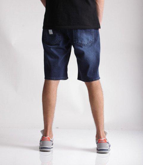 Mass Jeans Base Regular Fit Spodnie Krótkie Dark Blue