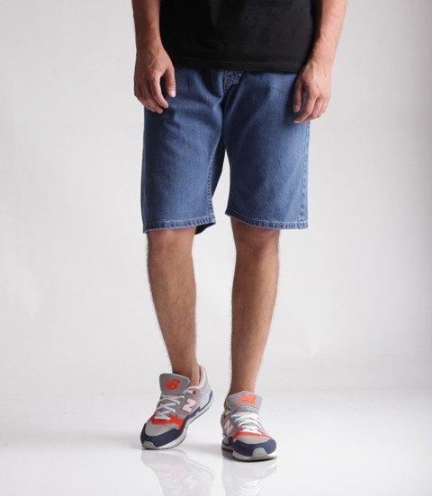 Mass Jeans Classics Straight Fit Spodnie Krótkie Blue