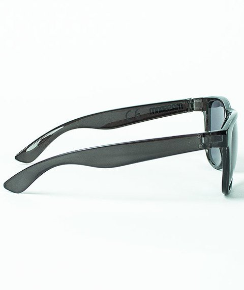 Mass-John Sunglasses Transparent Black