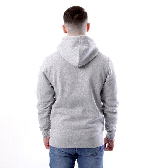 Mass-Mass-Bluza Sweatshirt Hoody Classic small logo Szara