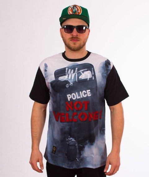 Mass-Not Welcome T-Shirt Czarny/Multicolor