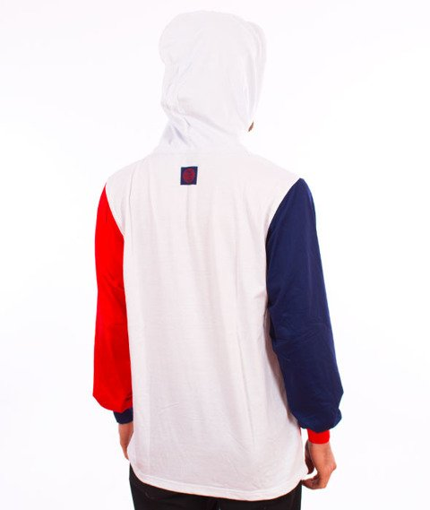 Mass-Oblique Hoody Longsleeve White