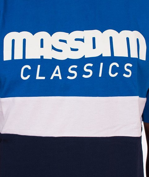 Mass-Respect T-Shirt Blue/Navy