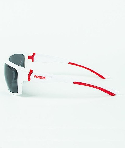 Mass-Ringo Sunglasses Shine White