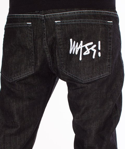 Mass SIGNATURE Jeans Tapered Fit Black Rinse