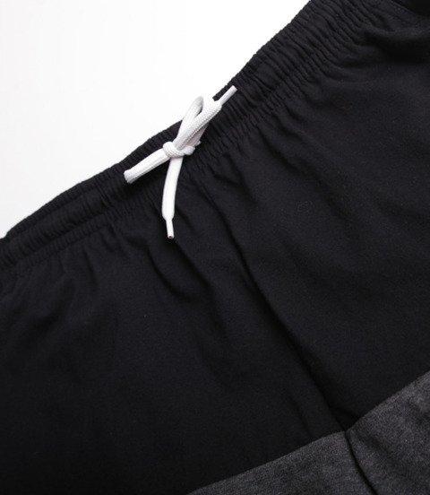 Mass Separate Spodnie Krótkie Czarny/ Ciemny Szary