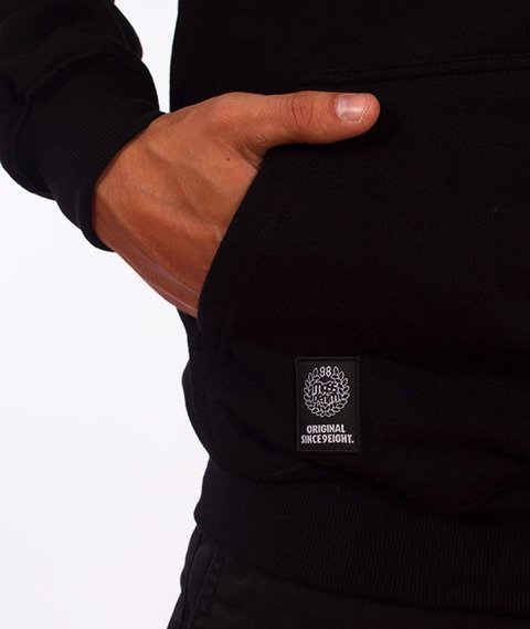 Mass-Signature Bluza Z Kapturem Black