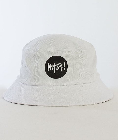 Mass-Signature Bucket Hat Biały