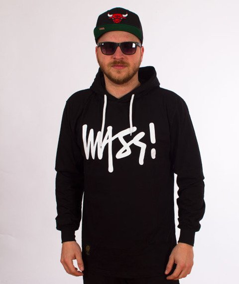 Mass-Signature Hoody Longsleeve Black