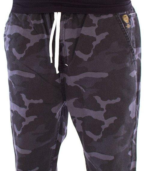 Mass-Signature Jogger Pants Spodnie Black Camo