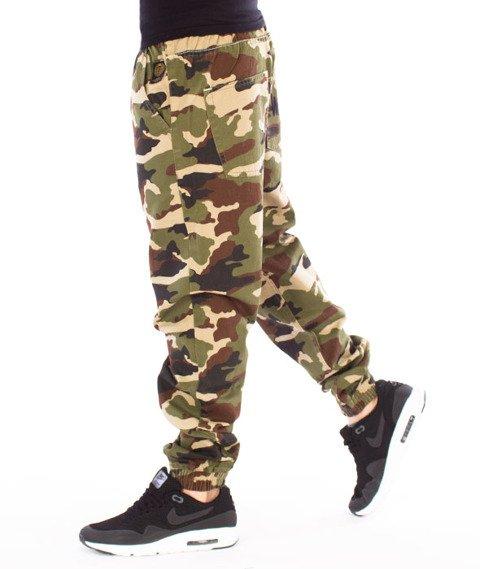 Mass-Signature Jogger Pants Spodnie Woodland Camo