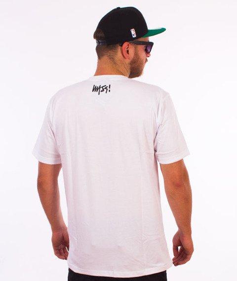 Mass-Signature T-shirt Biały