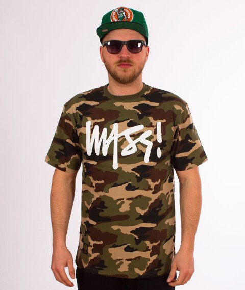 Mass-Signature T-shirt Camo