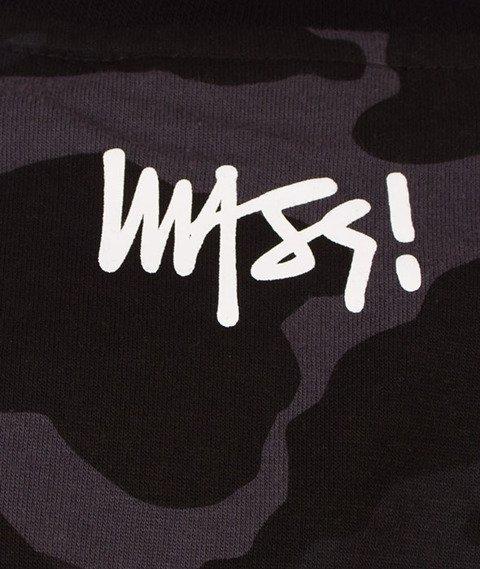 Mass-Signature T-shirt Camo/Czarny