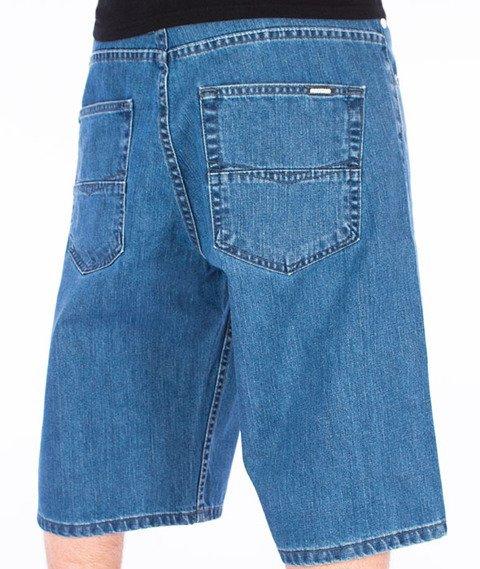 Mass-Slang Shorts Baggy Light Blue