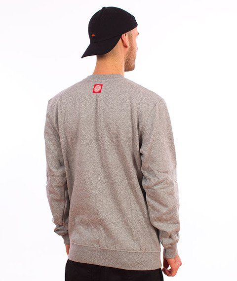Mass-Truth Bluza Light Heather Grey