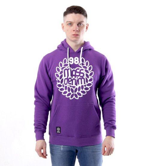 Mass- bluza Sweatshirt Base Hoody Fioletowa