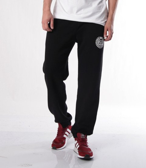Mass-spodnie dresowe Base Sweatpants Regular Fit Czarne