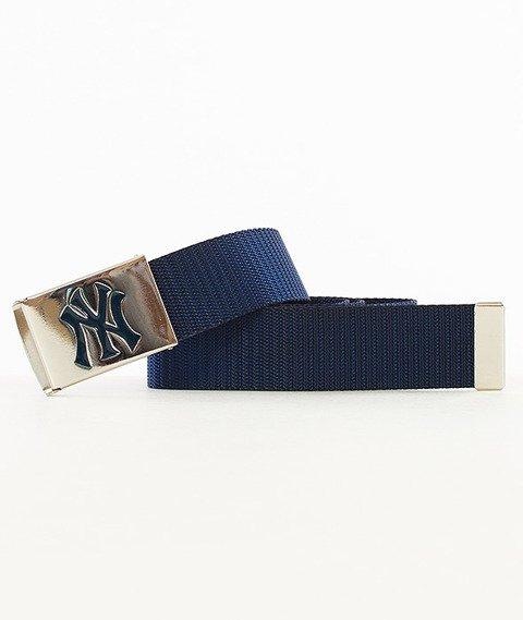 MasterDis-MLB Woven Single New York Yankees Pasek Granatowy/Srebrny