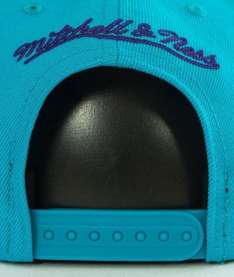 Mitchell & Ness-Charlotte Hornets Solid Team Snapback NZ979