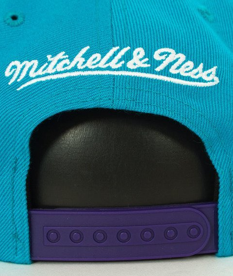 Mitchell & Ness-Charlotte Hornets XL Logo Two Tone NJ16Z