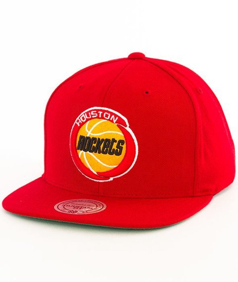 Mitchell & Ness-Houston Rockets Solid Team Colour NZ979