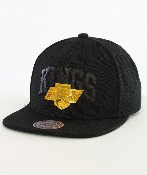 Mitchell & Ness-LA Kings Snapback EU942 Black/Gold