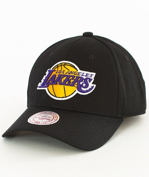 Mitchell & Ness-Los Angeles Lakers Team Logo Low Pro Snapback Czarny