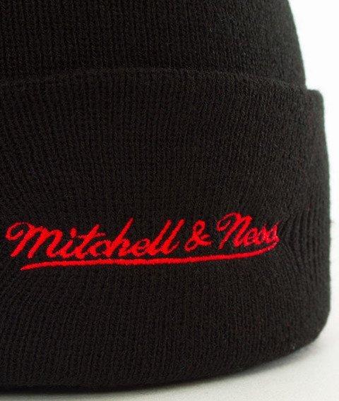Mitchell & Ness-Toronto Raptors Team Logo Cuff Knit Czapka Zimowa Czarna