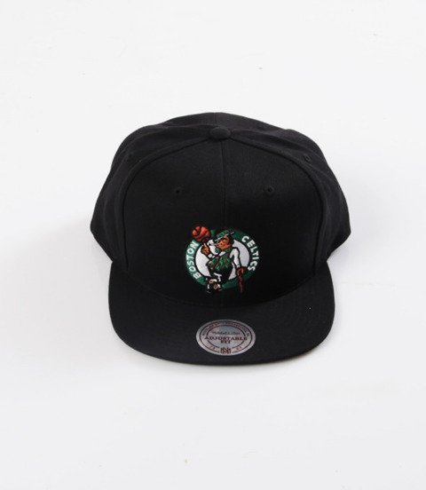 Mitchell & Ness- Wool Solid Snapback - NBA - Boston Celtics