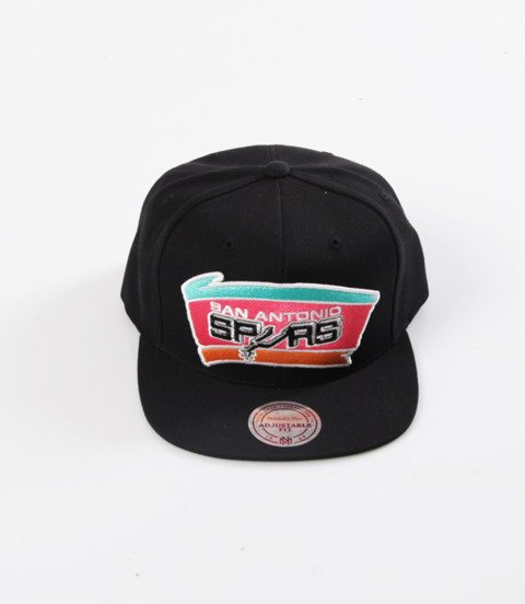 Mitchell & Ness- Wool Solid Snapback - NBA - San Antonio Spurs