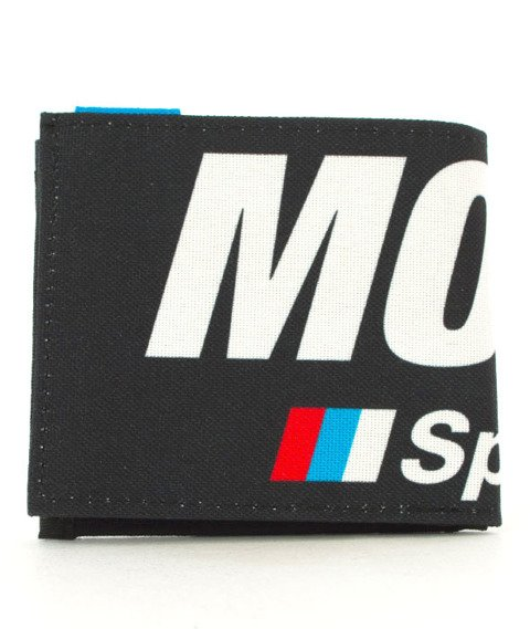 Moro Sport-3 Colors Portfel Czarny