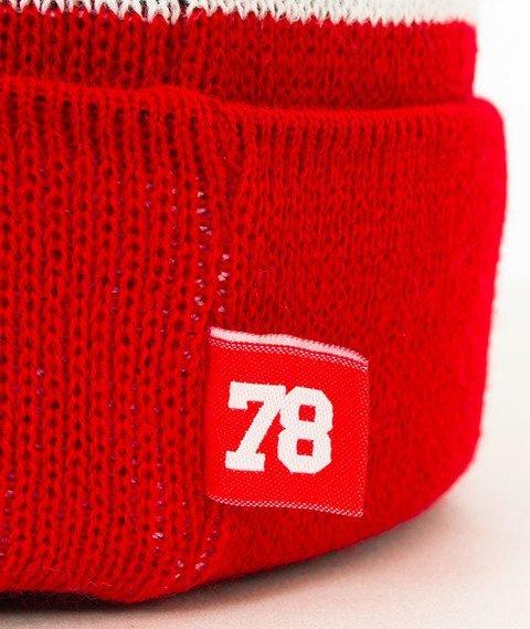 Moro Sport-78 Czapka Zimowa Czarna/Czerwona