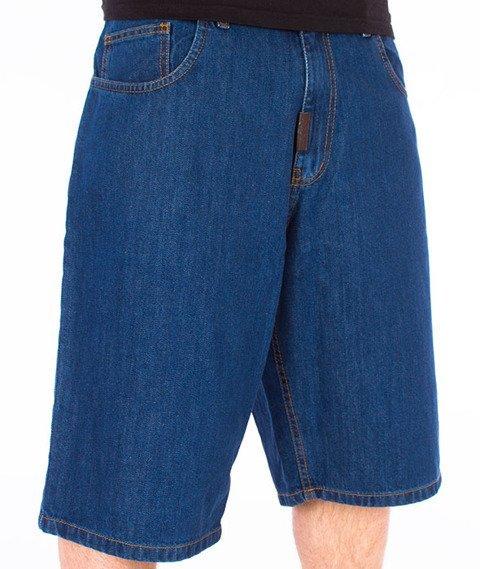 Moro Sport-M Jeans Spodnie Krótkie Średnie Spranie
