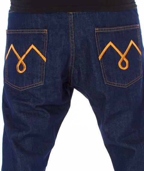 Moro Sport-M-Stitch Slim Spodnie Ciemne Pranie