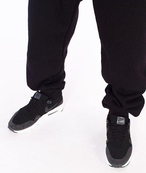 Moro Sport-MORO Spodnie Dresowe Czarne