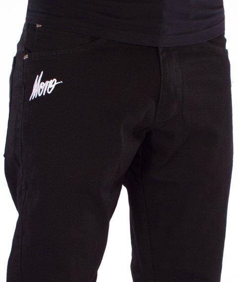 Moro Sport-Mini Slant Tag17 Jogger Spodnie Czarne