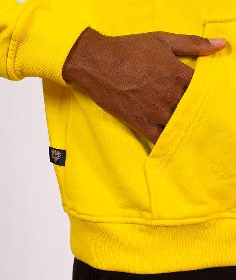 Moro Sport-Mini Slant Tag18 Bluza Kaptur Żółty