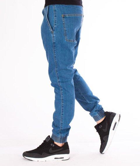 Moro Sport-Mini Slant Tag18 Jogger Spodnie Jasne Pranie