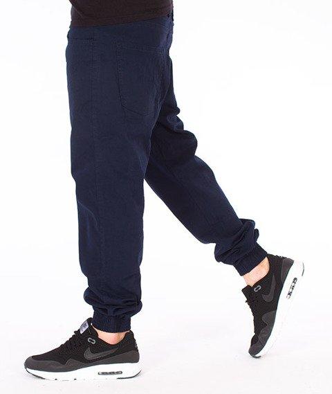 Moro Sport-Paris Jogger Regular Spodnie Granatowe