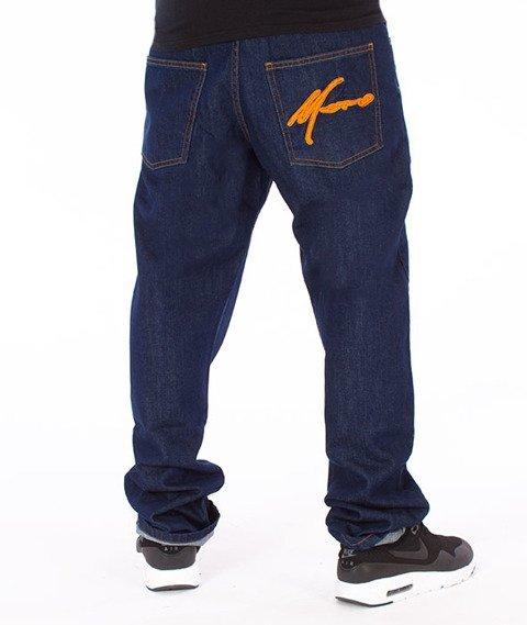Moro Sport-Paris Regular Spodnie Ciemne Pranie