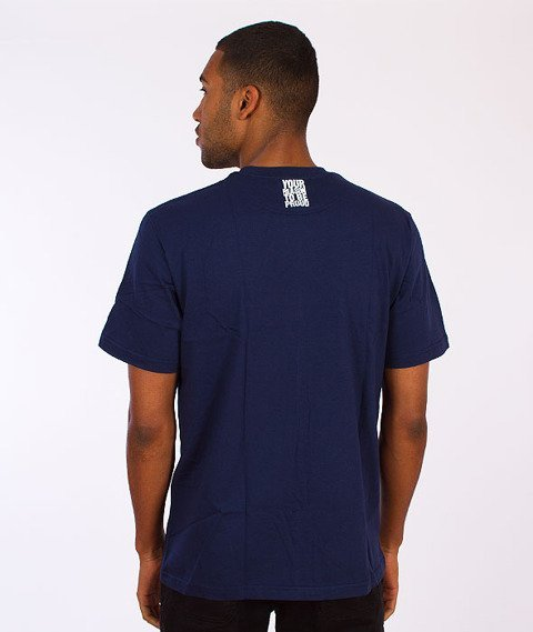 Moro Sport-Paris T-Shirt Granatowy