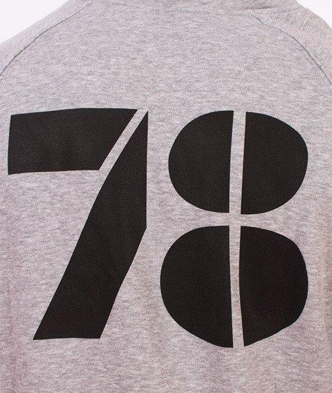 Moro Sport-Vintage Bluza Kaptur Szary