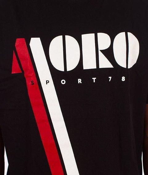 Moro Sport-Vintage Moro T-Shirt Czarny