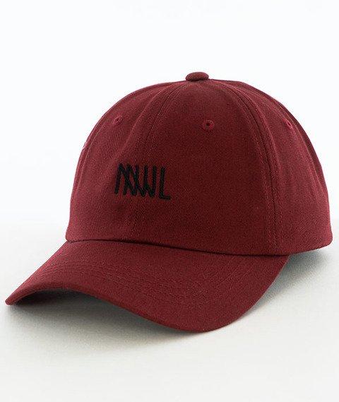 NNJL-Daddy Hat Czapka Snapback Burgundowy