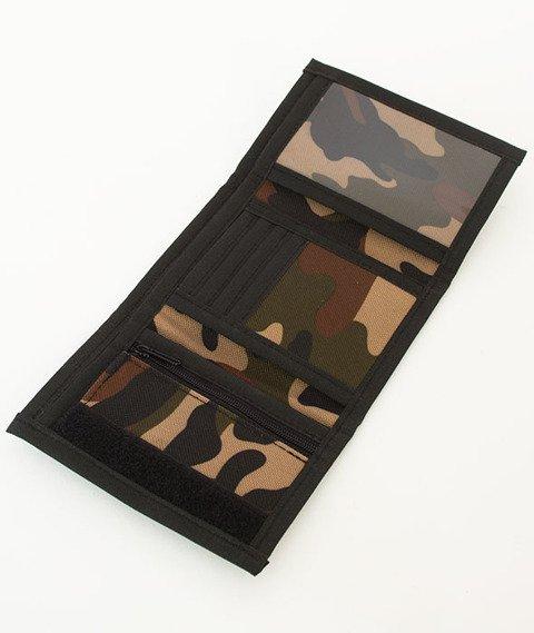 Nervous-Brand Leather Sp17 Portfel Camo